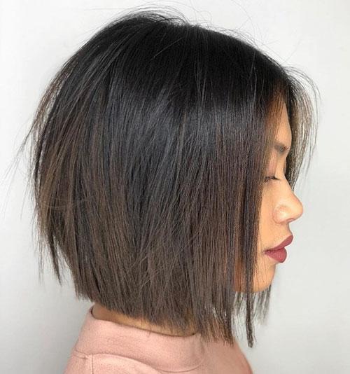 Short Hair Cut Bob