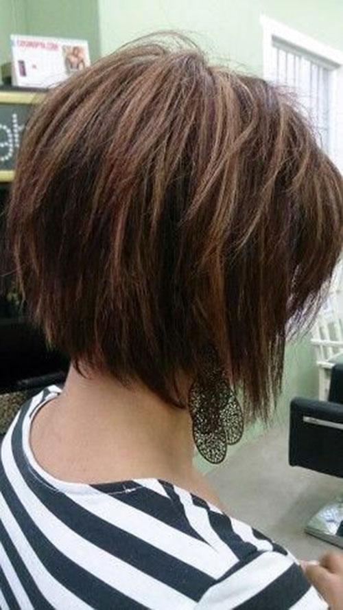 Short Layers On Short Hair