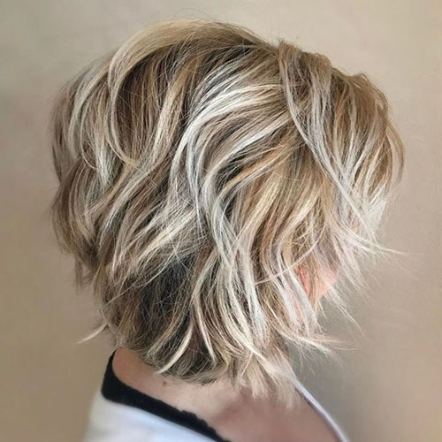 Short Layers For Short Hair