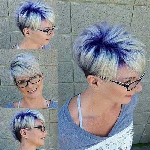 Pixie Hair Colour Images