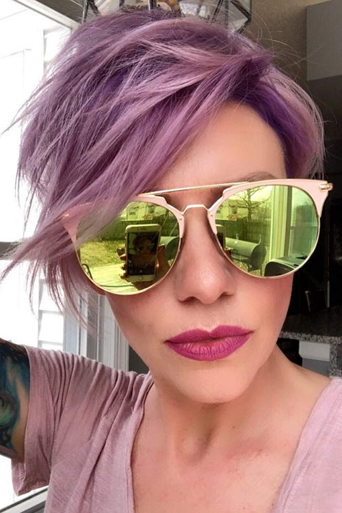 Pixie Hair Colour Ideas