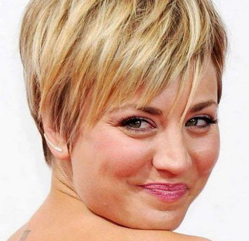 Great Short Haircuts For Fat Faces