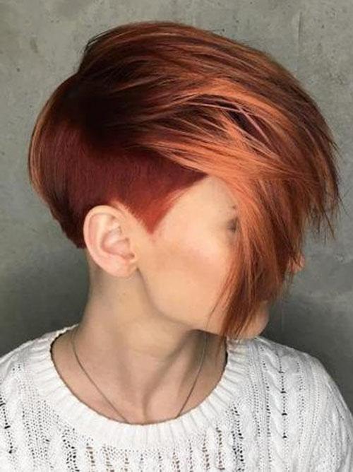 Pixie Hair Colour