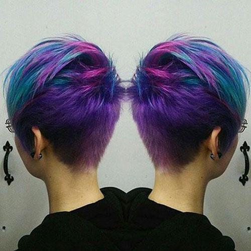 Pixie Cut Color Ideas