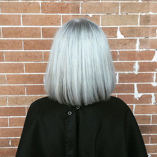 Short Haircuts For Women Over 50 Back View