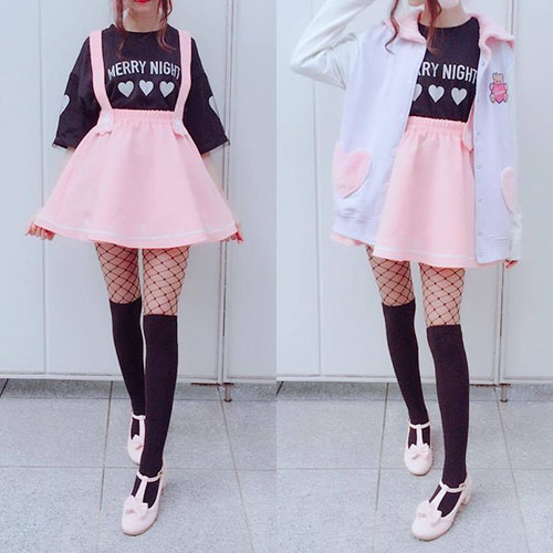 Unique Pastel Goth Outfits Archives Latest Hairstyles And Haircut Pictures
