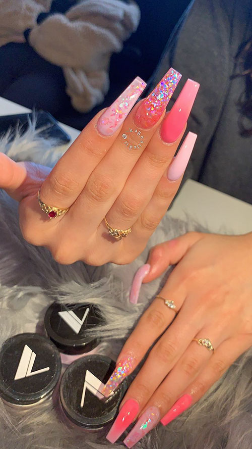 Cute Trendy Acrylic Nails