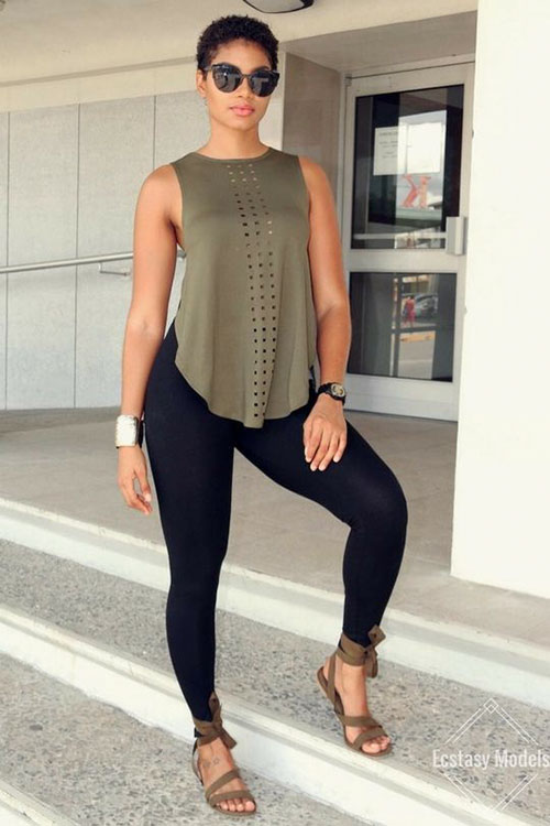 Cute Outfits With Leggings Summer