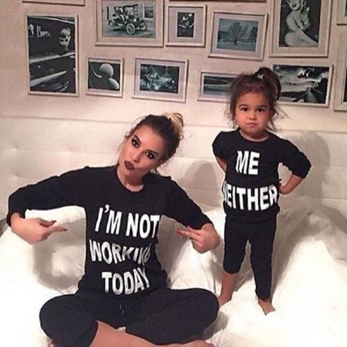Mommy Daughter Matching Outfits