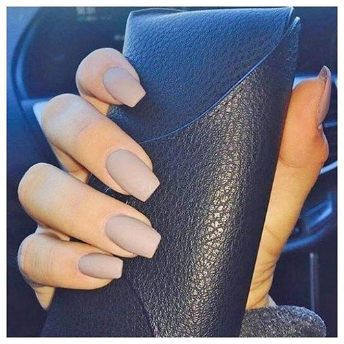 Acrylic Neutral Nails
