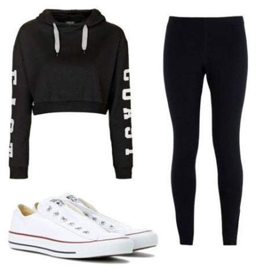 Outfits With Leggings Summer