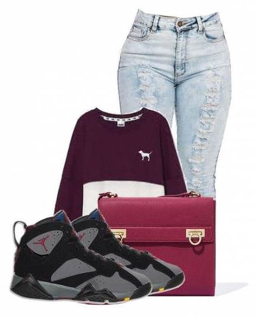 Jordan Outfits For Womens