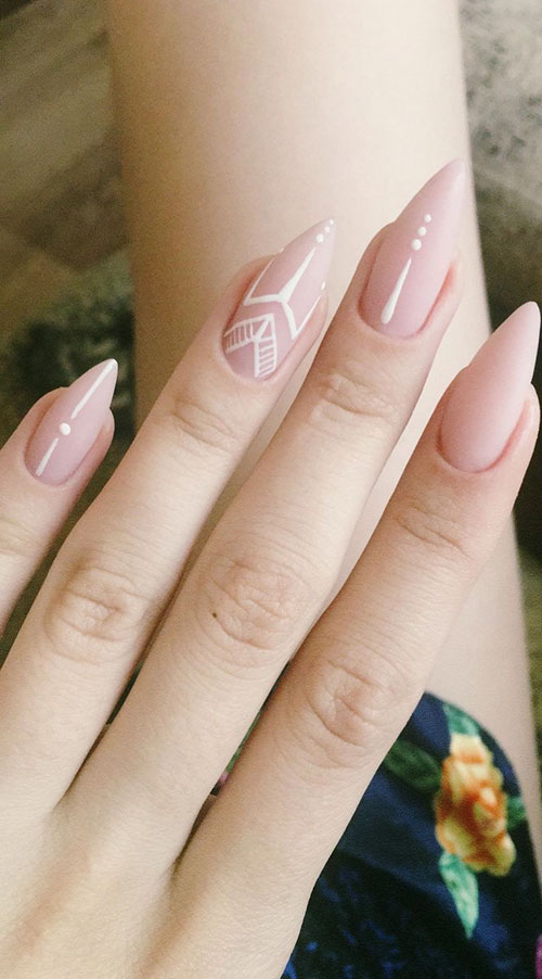 Acrylic Nails Neutral