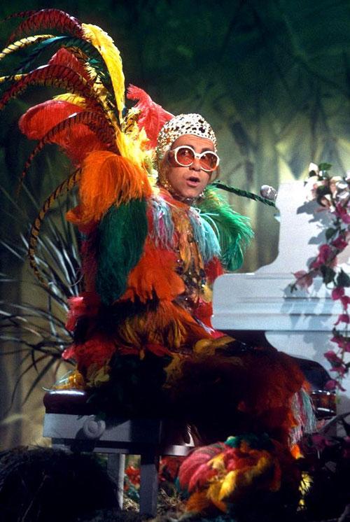 Elton John Stage Outfits