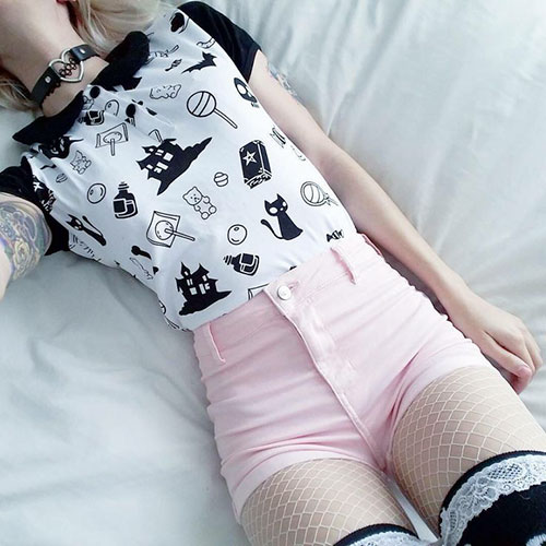 Pastel Goth Outfits For Girls