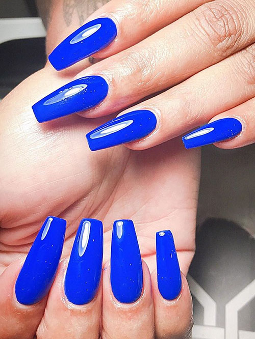 Perfect Coffin Shaped Nails