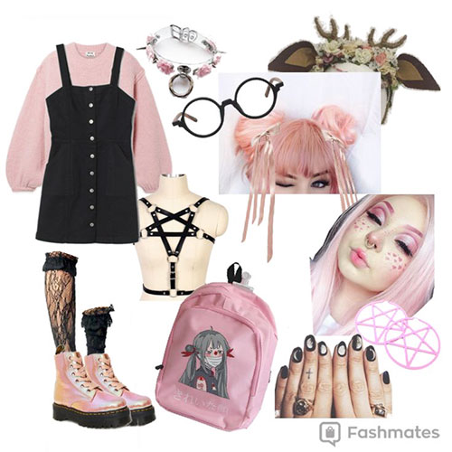 Pastel Goth Outfits In 2020
