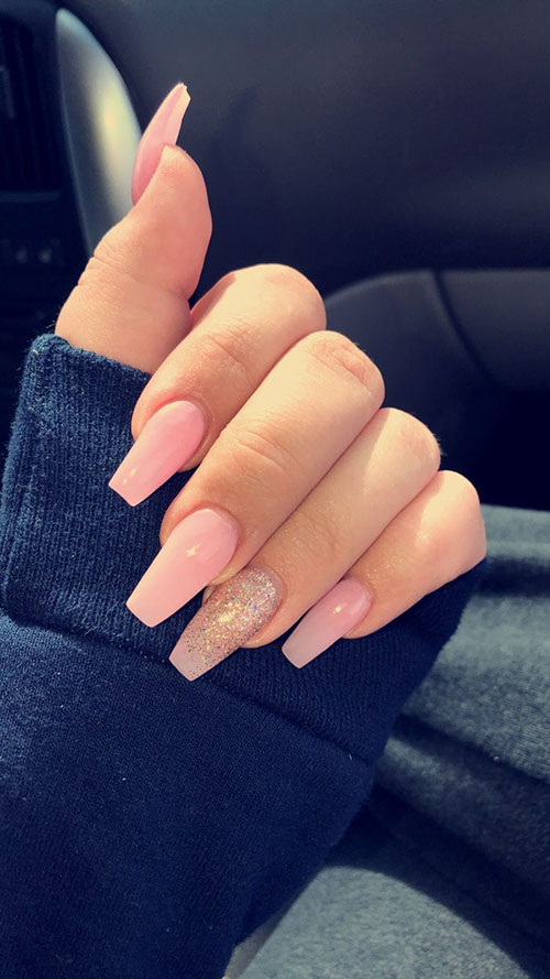 Pictures Of Coffin Shaped Nails