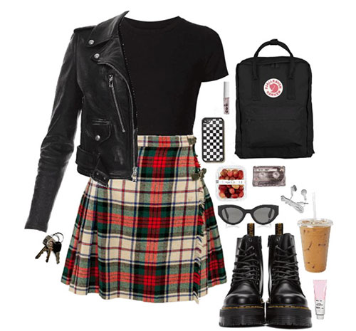 Grunge Outfits 90S