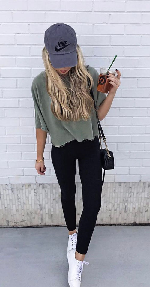 Summer Outfits With Leggings