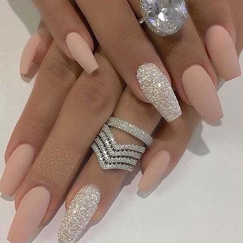 Cute Basic Acrylic Nails