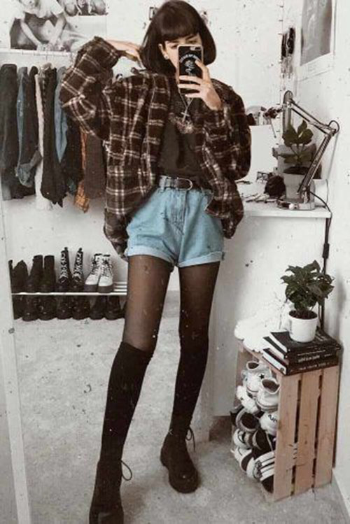 Grunge 90S Outfits