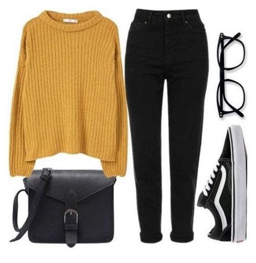 Beautiful Fall Outfits For Teens