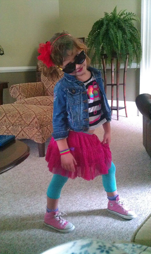 Unique 80S Outfits For Kids