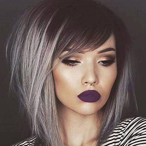 A Line Bob Haircut With Bangs Archives Latest Hairstyles And Haircut Pictures