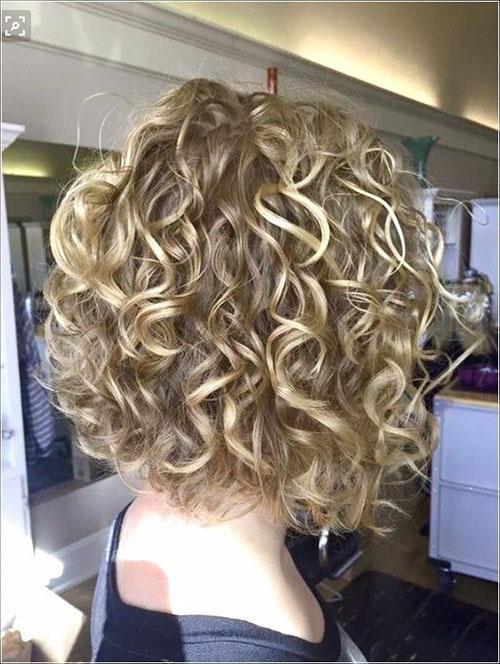 Bob Cut Curly Hair