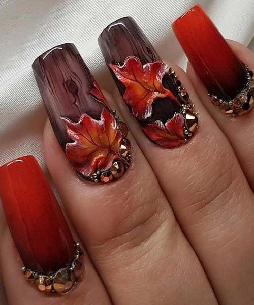Pictures Of Fall Nails