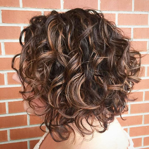 Bob Haircut For Curly Hair