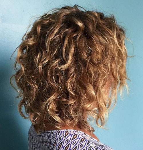 Stacked Bob Curly Hair
