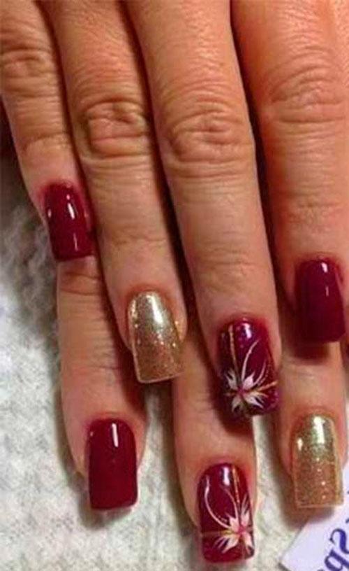 Basic Christmas Nails