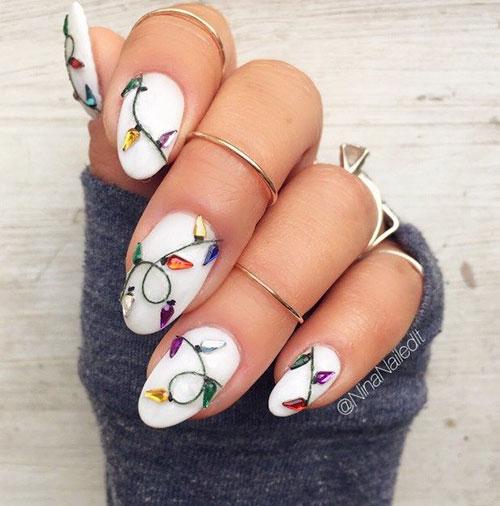 Subtle Christmas Nails